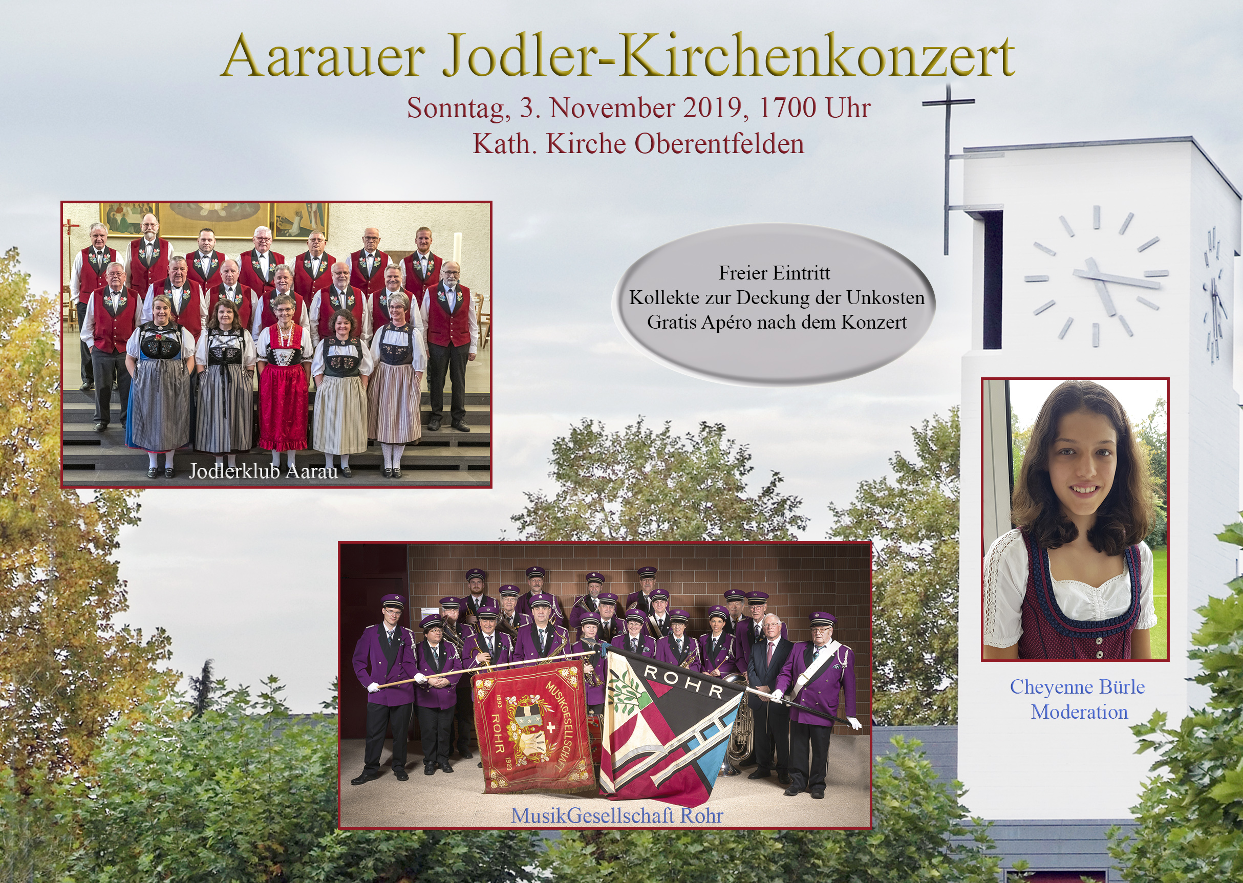 Flyer Kirchenkonzert2019